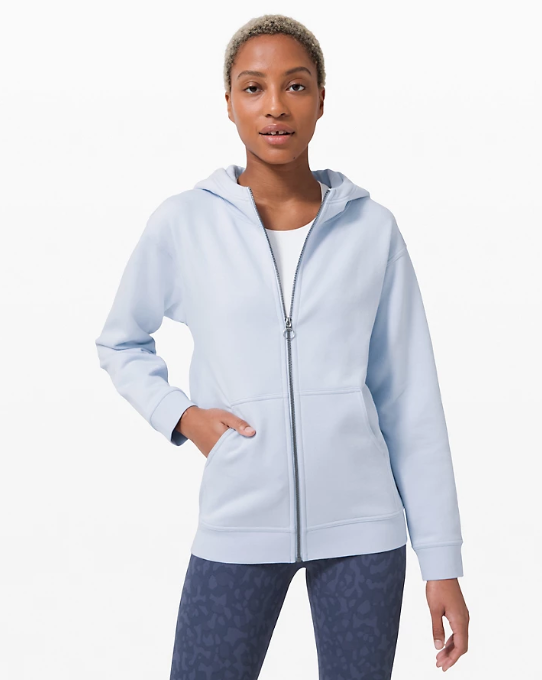 All Yours Zip Hoodie in daydream