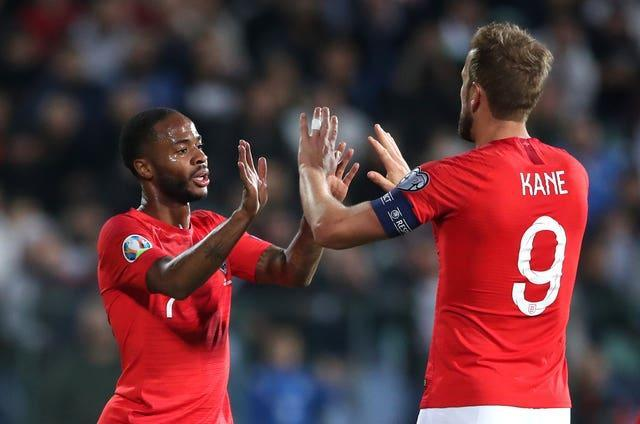 Raheem Sterling and Harry Kane are key parts of the England attack
