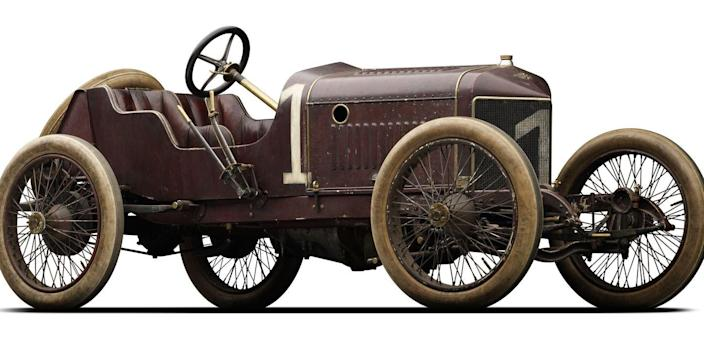 Photo credit: The Mullin Automotive Museum's 1911 Hispano-Suiza Type 45CR King Alfonso XIII