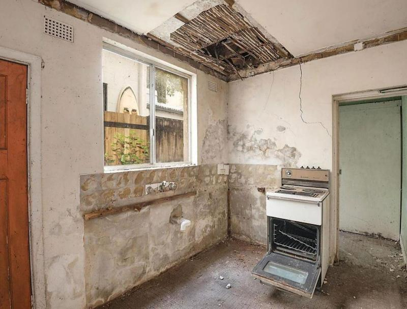 The agents won't let you inside to take a look unless you're over 18 and are wearing closed shoes. Photo: Realestate.com