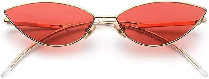 <p>The small cat-eye trend isn't going anywhere, and the <span>FEISEDY Retro Petal-Shaped Sunglasses</span> ($14) are such a cute pair!</p>