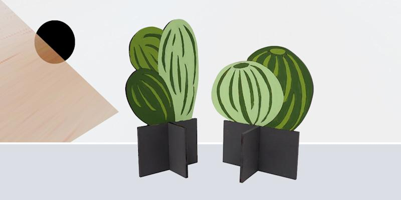 When the weather outside is frightful, paint yourself a plywood plant that will never die, no matter how long you ignore it. SHOP NOW: Flat Plant Paint By Numbers Kit by Scout Regalia, from $40, scoutregalia.com