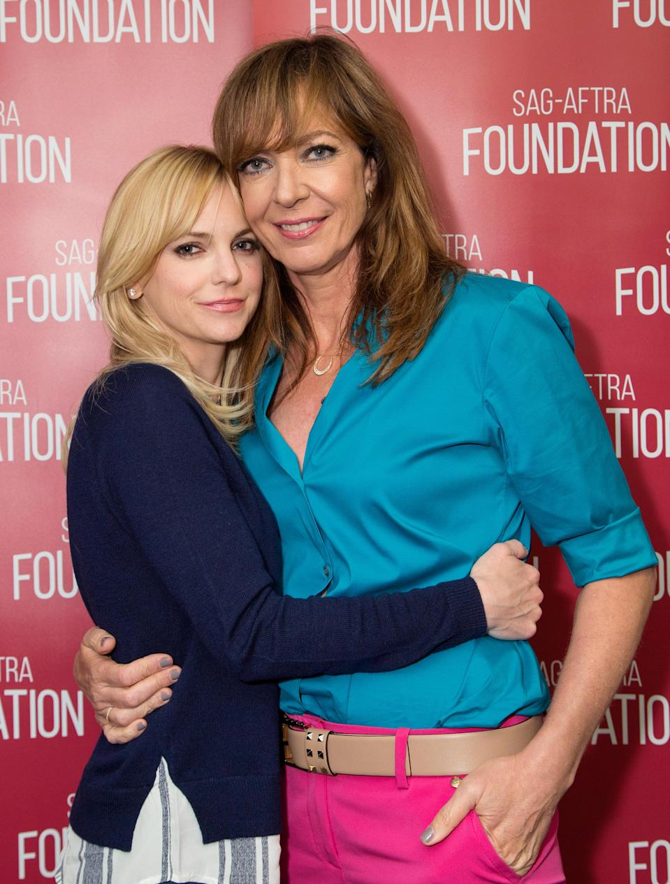 Anna Faris's 'Mom' co-star Allison Janney opens up about how the actress is handling her breakup with Chris Pratt.