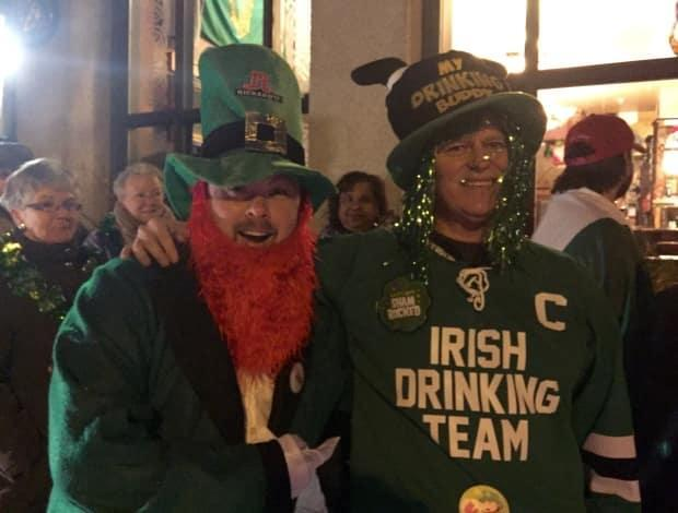 On St. Patrick's Day in 2016, some dedicated people started lining up at 4:30 a.m.