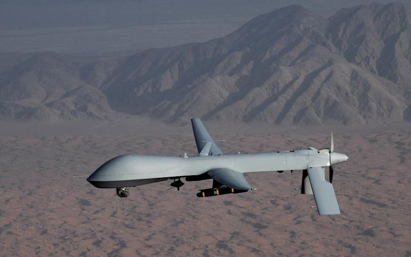 A US Air Force image of a Predator drone - Reuters