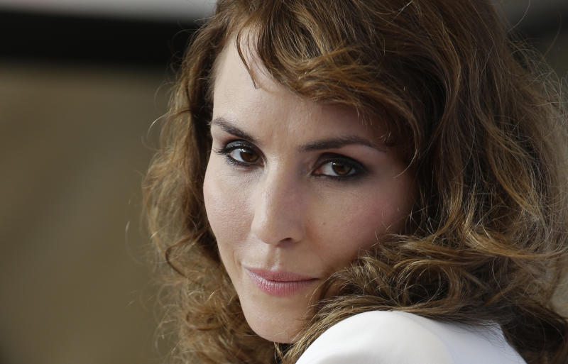 Actress Noomi Rapace poses at the photo call of the film 'Passion' at the 69th edition of the Venice Film Festival in Venice, Italy, Friday, Sept. 7, 2012. (AP Photo/Andrew Medichini)