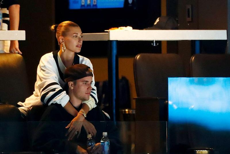 Hailey Baldwin and Justin Bieber | Omar Rawlings/Getty Images