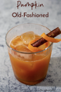"""<p>Add fall flavor to this classic cocktail by incorporating pumpkin puree and maple syrup into the mix.</p><p><strong>Get the recipe at <a href=""""https://www.theredheadbaker.com/pumpkin-old-fashioned/"""" rel=""""nofollow noopener"""" target=""""_blank"""" data-ylk=""""slk:The Redhead Baker"""" class=""""link rapid-noclick-resp"""">The Redhead Baker</a>.</strong></p><p><strong><a class=""""link rapid-noclick-resp"""" href=""""https://go.redirectingat.com?id=74968X1596630&url=https%3A%2F%2Fwww.walmart.com%2Fsearch%2F%3Fquery%3Dcocktail%2Bshaker&sref=https%3A%2F%2Fwww.thepioneerwoman.com%2Ffood-cooking%2Fmeals-menus%2Fg33510531%2Ffall-cocktail-recipes%2F"""" rel=""""nofollow noopener"""" target=""""_blank"""" data-ylk=""""slk:SHOP COCKTAIL SHAKERS"""">SHOP COCKTAIL SHAKERS</a></strong><strong><br></strong></p>"""