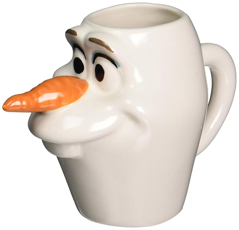 <p>We can't wait to sip hot chocolate out of this <span>Westland Olaf Mug</span> ($15). </p>