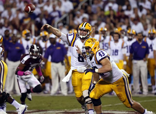 Miles says LSU defense will help Mettenberger more