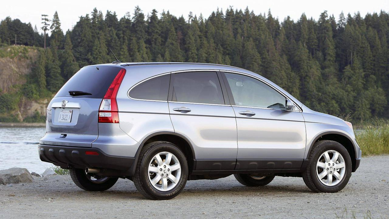 <p><strong>$8,950 - $10,061</strong></p> <p>What really makes the CR-V an excellent choice if you only have 10,000 ducats to spend is that it offers a lot of space inside despite its compact dimensions. It seats up to five, which is great for growing families, and the cargo area is deceptively big and able to accept large items. And though it's not something talked about much, this generation CR-V has excellent visibility. The driver's blindspot looking over their right shoulder is much smaller than normal thanks to how the bottom of the CR-V's side windows are perfectly straight all the way to the back of the vehicle. Compare that to today's crossovers whose rear window shapes often completely obscure that sight line.</p>