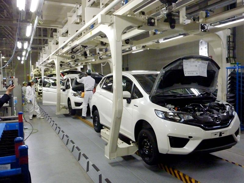 Honda counts on lean production for hybrid Fit