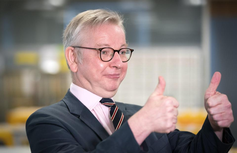 Michael Gove said he didn't think it was 'right' to have another vote on independence now (Jane Barlow/PA) (PA Wire)