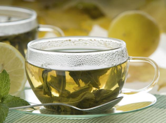 <b>Green tea<br><br>When to Drink</b>: At Lunch Sip tea. Green kick-starts metabolism and can help fend off breast cancer, says Jonathan R. Cole, M.D., medical director of the California Health and Longevity Institute. Black may lower blood pressure, research from the University of Western Australia suggests.