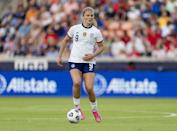 <p><strong>Position:</strong> midfielder</p> <p><strong>Hometown:</strong> Golden, CO</p> <p><strong>Club:</strong> Portland Thorns FC </p> <p><strong>Olympic appearances:</strong> Rio 2016</p> <p>Horan made history as the first woman to bypass collegiate soccer and go right to the pros. She'll be making her second Olympic appearance in Tokyo.</p>