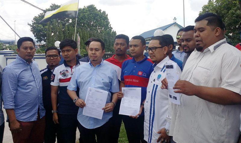 DAP's Nga accused of insulting Perak MB