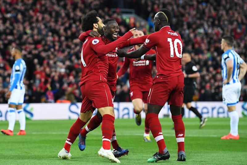 Liverpool could lose Mohamed Salah, Naby Keita and Sadio Mane to the Africa Cup of Nations next year (Getty Images)