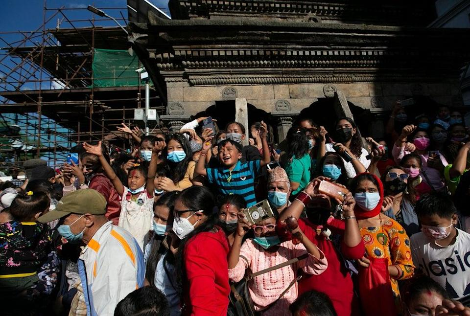Virus Outbreak Nepal Festival (Copyright 2021 The Associated Press. All rights reserved.)