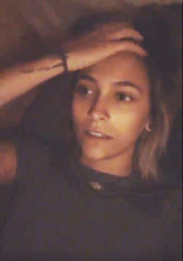 The 19-year-old daughter of late musician Michael Jackson speaks candidly to the camera in a series of Instagram stories clips, saying
