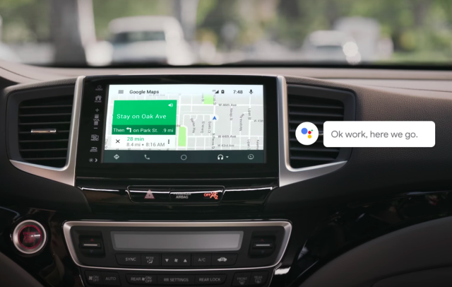 Google Assistant is also coming to Android Auto this year.