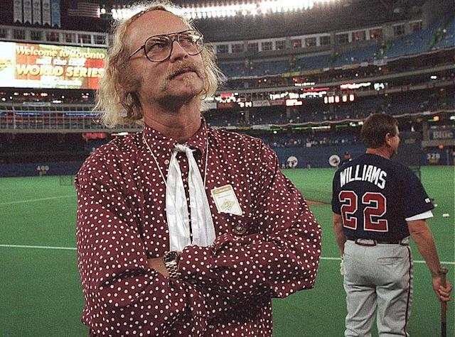 "Canadian author W.P. Kinsella, whose most famous work was the 1982 novel ""Shoeless Joe,"" has died at age 81. (AP)"