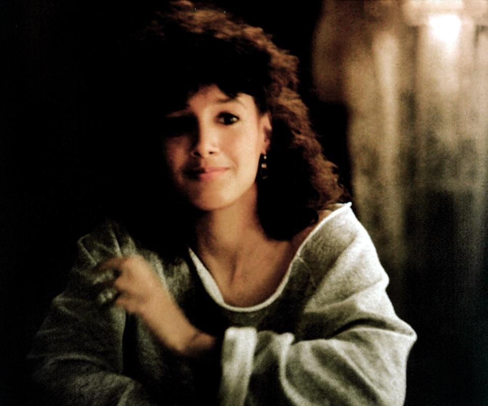 """<p><em>Flashdance</em>, a movie about an exotic dancer who dreams of becoming a professional ballerina, wasn't a hit with critics at the time. The film—and the soundtrack that accompanies it—became a cultural phenomenon anyway. Case in point: How many of us have an off-the-shoulder sweatshirt like star Jennifer Beals wears in the photo above?</p> <p><em>Available to rent on</em> <a href=""""https://www.amazon.com/Flashdance-Adrian-Lyne/dp/B001DTTG16/"""" rel=""""nofollow noopener"""" target=""""_blank"""" data-ylk=""""slk:Amazon Prime Video"""" class=""""link rapid-noclick-resp""""><em>Amazon Prime Video</em></a><em>.</em></p>"""