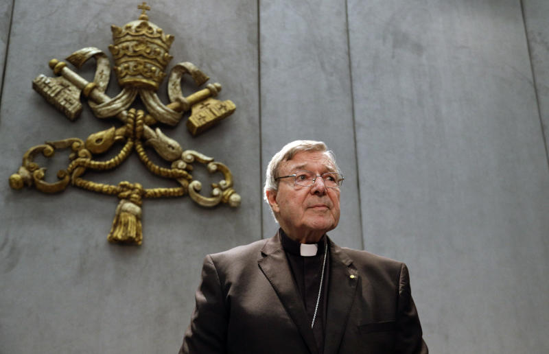 Australian cardinal George Pell removed from inner circle by Pope Francis