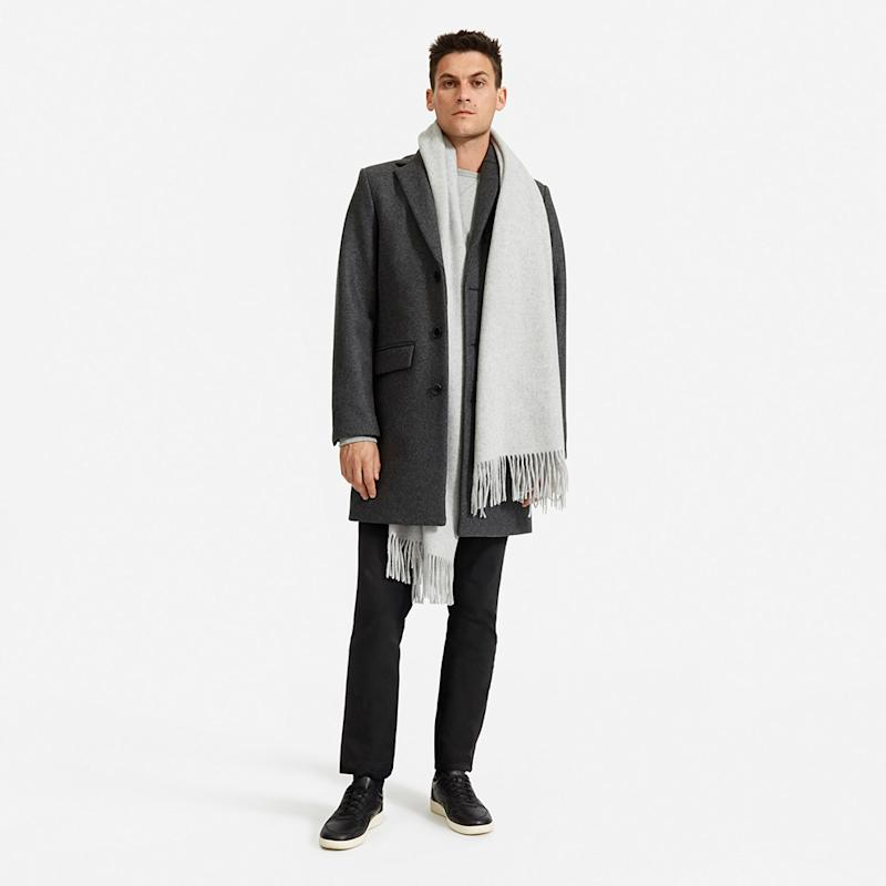 The Wool-Cashmere Blanket Scarf (Photo: Everlane)