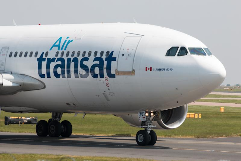 Air Transat Airbus A310-300 wide-body passenger plane
