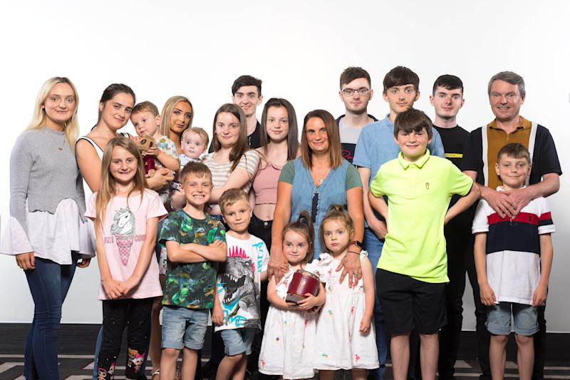 Mother of Britain's biggest family, the Radfords, expecting 22nd child