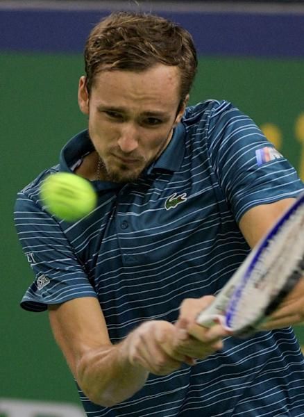 Fognini next plays Russia's Daniil Medvedev, the in-form world number four and US Open finalist