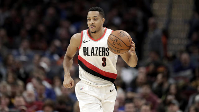 Portland Trail Blazers' guard C.J. McCollum has become one of the NBA's most lethal offensive threats. (AP)
