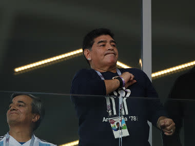FIFA World Cup 2018: Diego Maradona launches scathing attack on Argentina coach after Iceland draw