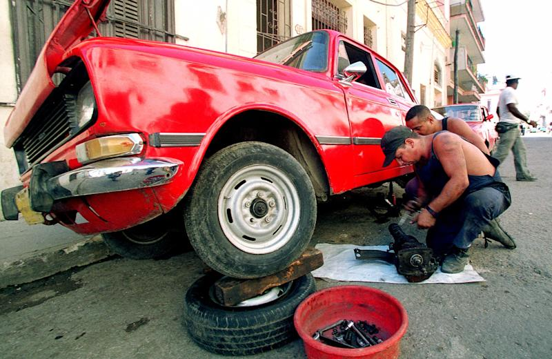 Cuban cars get spruced up with help from Fla. shop