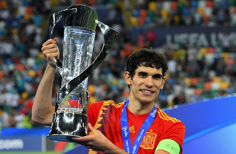 Jesús Vallejo signed for Wolves from Real Madrid on loan.