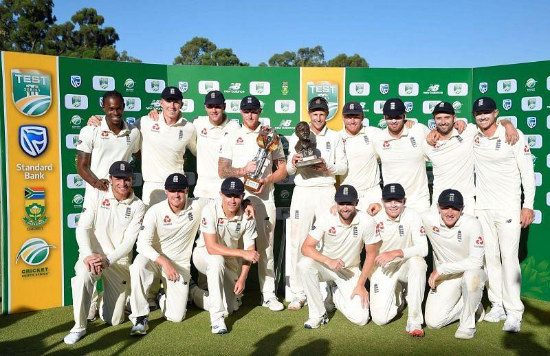 Despite losing the first Test, England won the next three matches to beat South Africa 3-1 away last season.