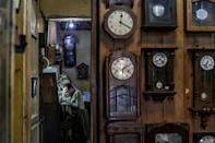 Time seems to have stood still at Papazian's, the Armenian watchmaker shop that has stood in Cairo's Attaba Square since 1903
