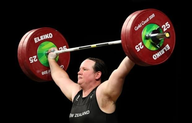 New Zealand weightlifter Laurel Hubbard is set to make history at the Tokyo Olympics as the first transgender athlete to compete at an Olympic Games. (Mark Schiefelbein/The Associated Press - image credit)