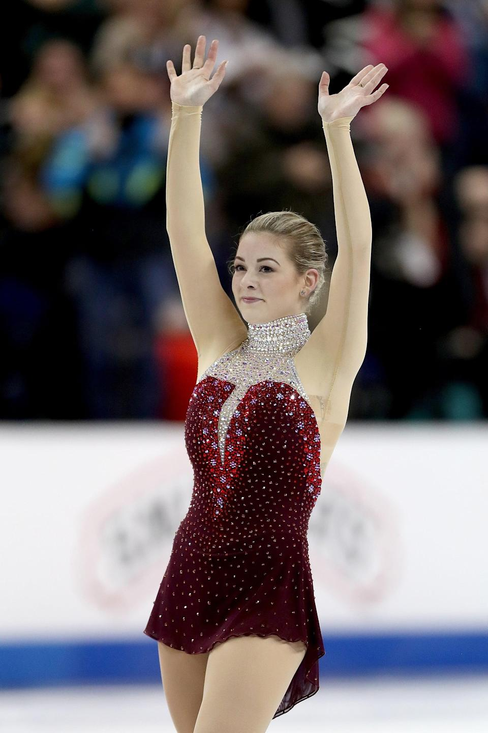 """<p>Gracie Gold may have won an Olympic bronze medal in figure skating, but arguably, some of her greatest contributions to the sport came after she left the ice. In 2016, <a href=""""https://www.popsugar.com/fitness/is-gracie-gold-still-skating-47651875"""" class=""""link rapid-noclick-resp"""" rel=""""nofollow noopener"""" target=""""_blank"""" data-ylk=""""slk:Gold stepped away from figure skating"""">Gold stepped away from figure skating</a> to seek treatment for anxiety, depression, and an eating disorder, and though she has since <a href=""""https://www.popsugar.com/fitness/gracie-gold-free-skate-2020-us-figure-skating-championships-47143331"""" class=""""link rapid-noclick-resp"""" rel=""""nofollow noopener"""" target=""""_blank"""" data-ylk=""""slk:returned to the sport"""">returned to the sport</a>, she continues to encourage other athletes to speak out about mental health. """"<a href=""""https://twitter.com/olympicchannel/status/1288481151728979969"""" class=""""link rapid-noclick-resp"""" rel=""""nofollow noopener"""" target=""""_blank"""" data-ylk=""""slk:There is not an Olympic medal for who can suffer in silence the longest"""">There is not an Olympic medal for who can suffer in silence the longest</a>,"""" Gold said in an interview with the Olympic Channel.</p>"""