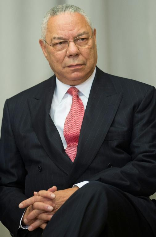"""Former US Secretary of State Colin Powell says US President Donald Trump has """"drifted away"""" from the US Constitution (AFP Photo/Jim WATSON)"""