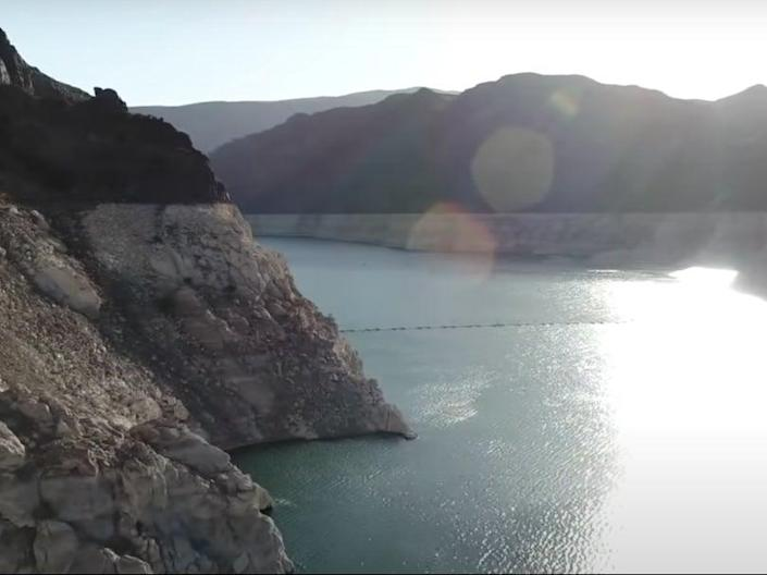 Lake Mead, the nation's largest reservoir, is at only 37% of its capacity (CBS)