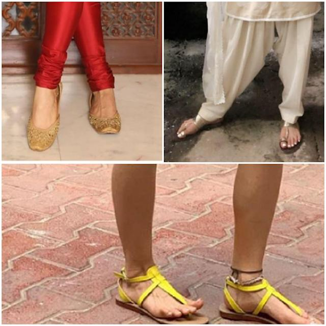 Sara's personal style translates to comfort, and you can't talk of comfort styling without mentioning flats. On her way out and about, the <em>Love Aaj Kal </em>actress is always clicked in flats or juttis, if not sneakers when headed for the gym. <br>