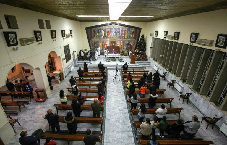 Between 12,000 and 18,000 Iraqi Christians live in Jordan, according to the Catholic charity Caritas, most of them awaiting clearance to emigrate to a third country