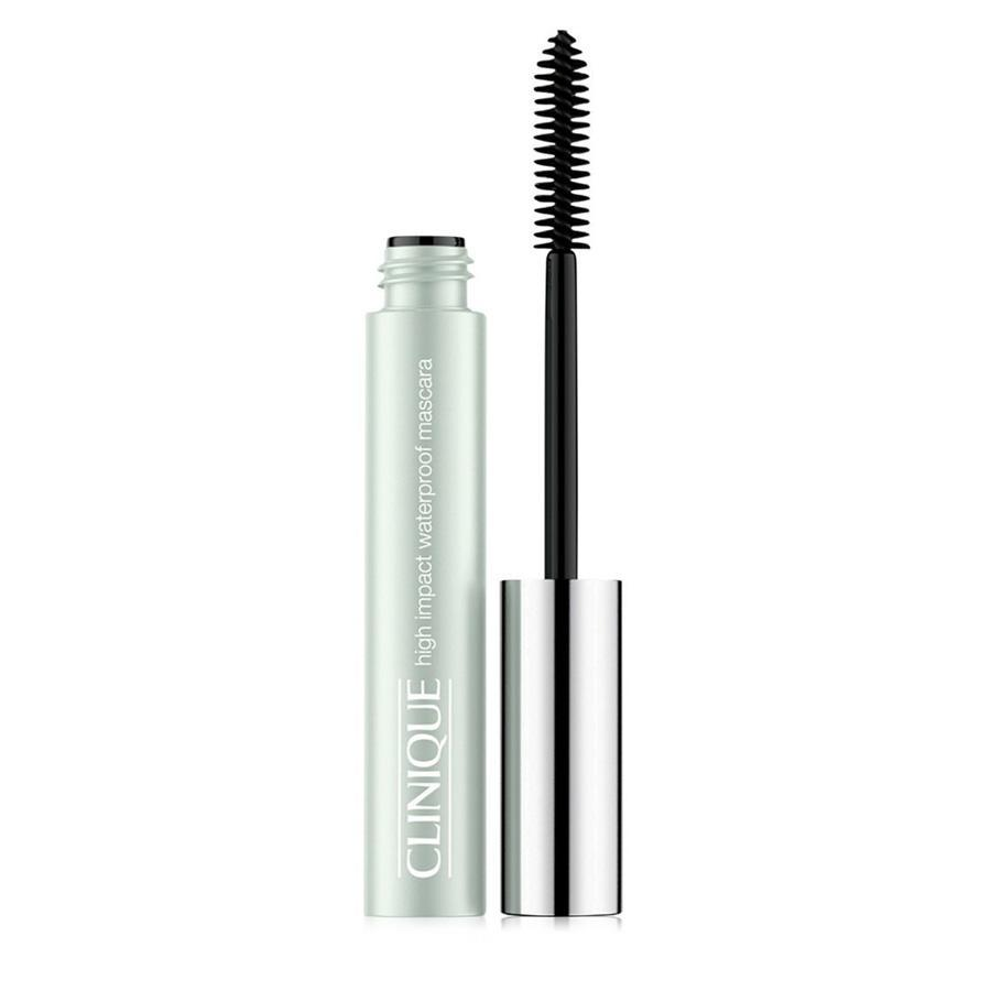 "<p>This smudge-proof mascara boosts lash volume and resists clumping. Plus, it's safe for contact lens wearers and those with sensitive eyes. Not a fan of waterproof mascara? ""Use your regular mascara first and then add one coat of waterproof to seal it,"" suggests Stiles. ""I also recommend using a waterproof mascara exclusively on the lower lashes during the summer. And add a little loose powder right under your lashes if you are using foundation or concealer — this will prevent any transference.""<br><a href=""http://www.clinique.com/product/1606/24805/makeup/mascara/high-impact-waterproof-mascara"" rel=""nofollow noopener"" target=""_blank"" data-ylk=""slk:Clinique"" class=""link rapid-noclick-resp"">Clinique</a>, $17.50<br>(Photo: Clinique) </p>"
