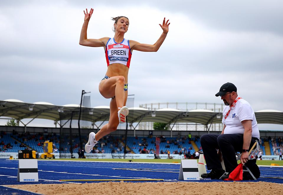 Olivia Breen won a bronze medal at the 2012 London Games and owns a pair of gold medals from world championship competition. (Ashley Allen/Getty Images)