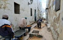 Tripoli's old city was neglected under dictator Moamer Kadhafi