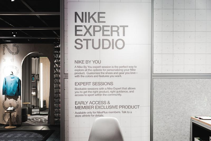premium selection 9c1ab 3428a That's including the studio where they're encouraged to meet one-on-one  with Nike experts for personalised help.