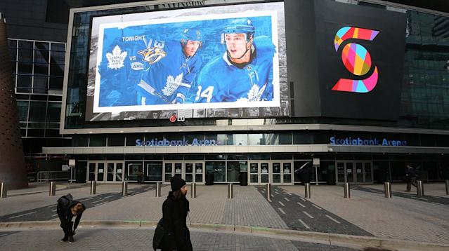The NHL will be shuttered until further notice. (Steve Russell/Toronto Star via Getty Images)