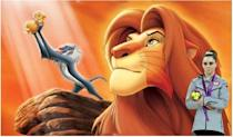McKayla Maroney is not impressed with the Circle of Life.