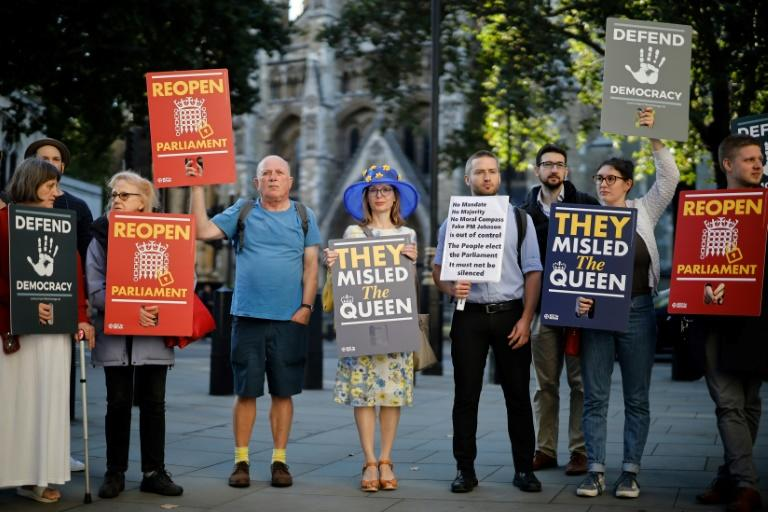 If the Supreme Court decision goes against Johnson then he is open to allegations that he misled the Queen (AFP Photo/Tolga Akmen)